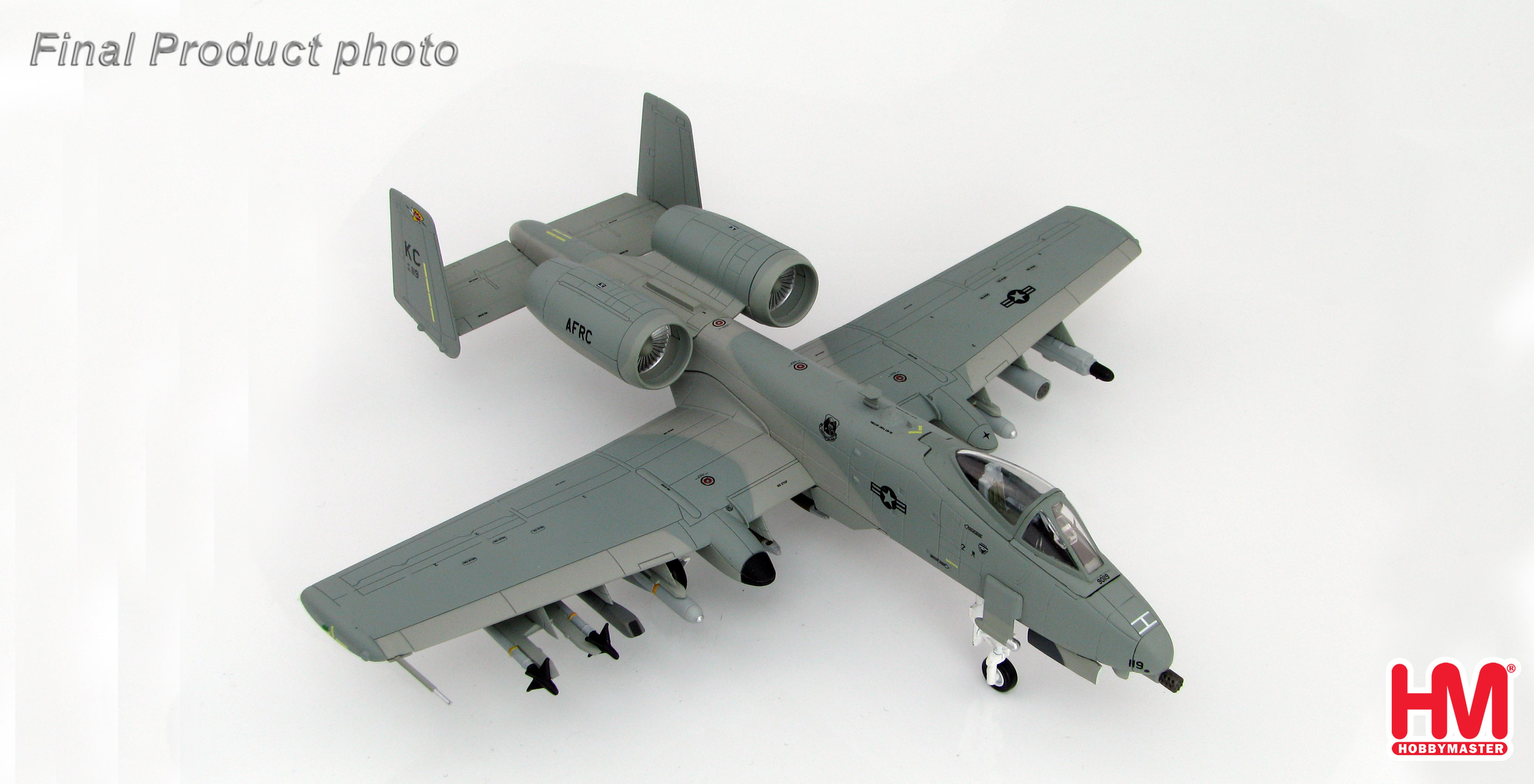 Hobby Master 1/72 scale Air Power Series Jet powered HA1323 - A-10C